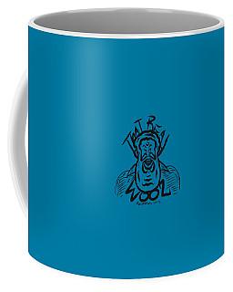 Real Wool Blue Coffee Mug