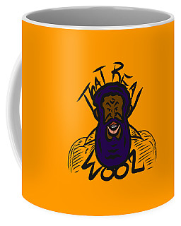 Real Wool Gold Coffee Mug
