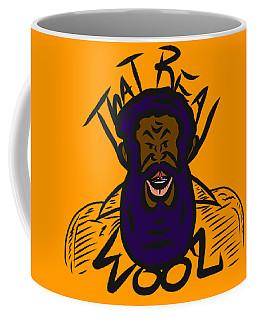 Real Wool Gold Coffee Mug