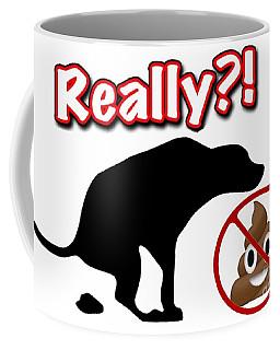 Really No Poop Coffee Mug