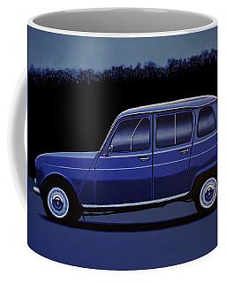 Renault 4 1961 Painting Coffee Mug
