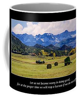 Reap A Harvest Coffee Mug