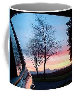 Rear View Coffee Mug