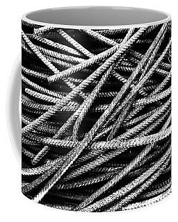 Rebar And Spring - Industrial Abstract  Coffee Mug