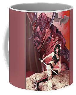 Rebel Dragon Coffee Mug