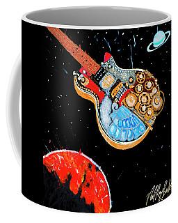 Rebel Guitar Fighter Coffee Mug