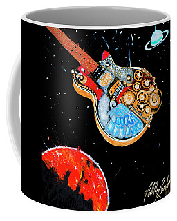 Rebel Guitar Fighter Coffee Mug