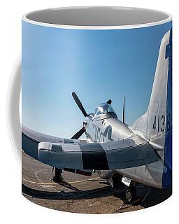 Rebel On The Ramp - 2017 Christopher Buff,www.aviationbuff.com Coffee Mug