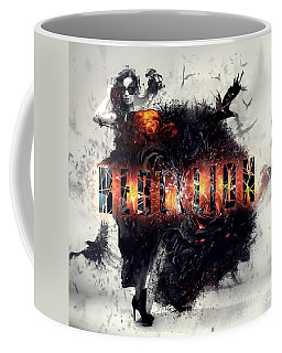 Rebellion Coffee Mug by Mo T