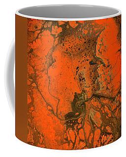 Rebirth-acrylic Pour #5 Coffee Mug