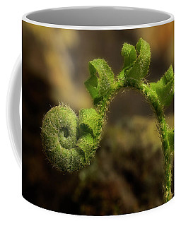 Coffee Mug featuring the photograph Rebirth by Mike Eingle