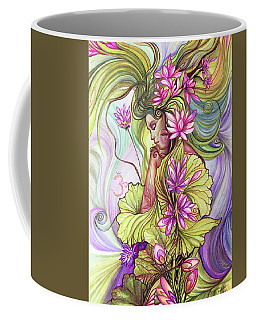 Rebirth With The Sacred Lotus Coffee Mug