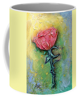 Coffee Mug featuring the mixed media Reborn by Terry Webb Harshman