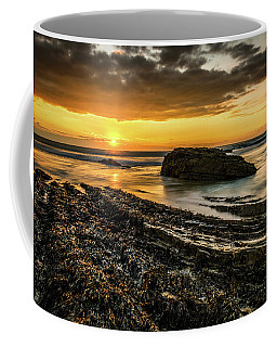 Coffee Mug featuring the photograph Receding Tide by Nick Bywater