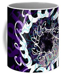 Receive And Believe In Black Coffee Mug