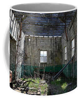 Coffee Mug featuring the photograph Reclaimed By Nature by W And F Kreations
