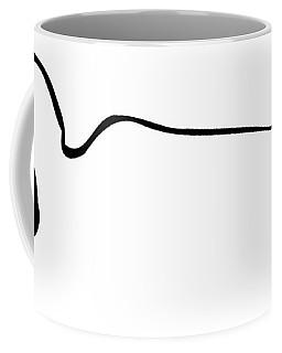 Reclining Buddha Minimalist Coffee Mug