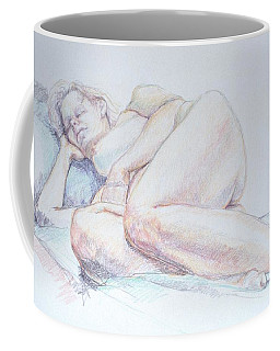 Reclining Study 2 Coffee Mug
