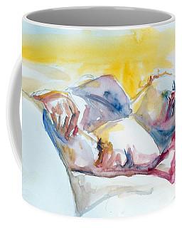 Reclining Study Coffee Mug