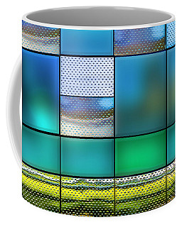 Coffee Mug featuring the photograph Rectangles by Paul Wear