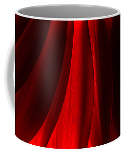 Red Abstract Of Chrysanthemum Wildflower Coffee Mug