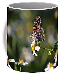 Red Admiral On Biden's Alba Coffee Mug