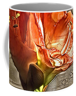 Red Amarylls Coffee Mug by Jim Pavelle