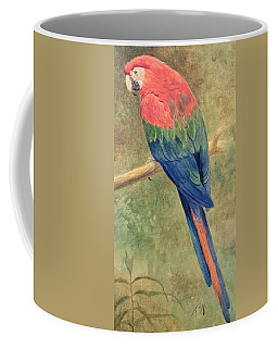 Red And Blue Macaw Coffee Mug