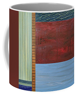 Red And Blue Study Coffee Mug