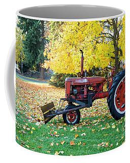 Red And Gold Coffee Mug