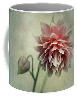Red And Pink Columbine Coffee Mug