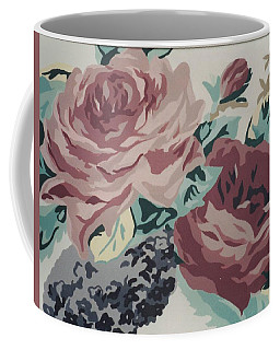 Red And Pink Flowers Coffee Mug