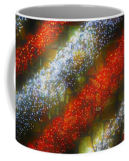 Red And White Coffee Mug