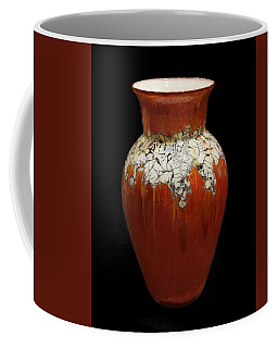 Red And White Vase Coffee Mug