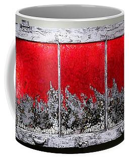 Red And White Window # 1 Coffee Mug