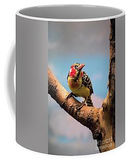 Red And Yellow Barbet Coffee Mug