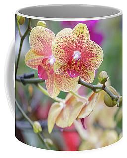 Red And Yellow Flower Coffee Mug