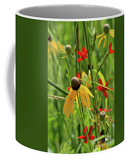 Red And Yellow Coffee Mug