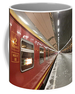 Red Arrow Express Coffee Mug