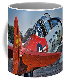 Red At-6 Coffee Mug