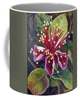 Pineapple Guava Flower Coffee Mug