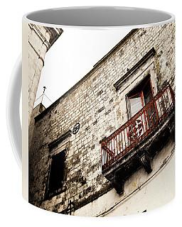 Red Balcony Coffee Mug