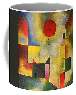 Red Balloon Coffee Mug by Paul Klee