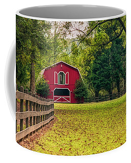 Red Barn 2 Coffee Mug