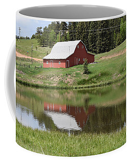 Red Barn Burgess Res Divide Co Coffee Mug