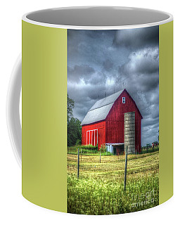 Red Barn Coffee Mug by Randy Pollard