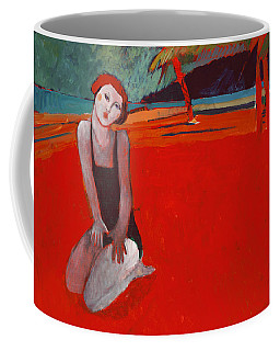 Red Beach Two Coffee Mug