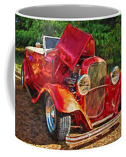 The Red Bell Roadster Coffee Mug