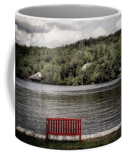 Red Bench Coffee Mug