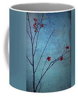 Red Berries Blue Sky Coffee Mug